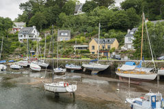 Pont-Aven em Brittany Imagens de Stock Royalty Free
