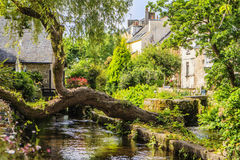 Pont Aven, Finistère, Brittany, France. Stock Photography
