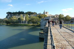 pont avignon d Стоковые Фотографии RF