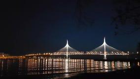 pont Câble-resté de diamètre ultra-rapide occidental banque de vidéos