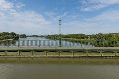 Pont Canal de Briare Stock Photography