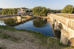 Pont-canal de l'Orb, Beziers, France photos stock