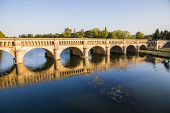 Pont-canal de l'Orb, Beziers, France photo stock