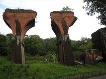 Pont cassé par Longteng images stock