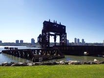 Pont central de transfert de rue de chemin de fer soixante-neuvième de New York Photos stock