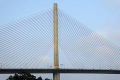 Pont chay de Bai dans la baie Vietnam de halong Images stock