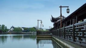 Pont chinois de style traditionnel banque de vidéos