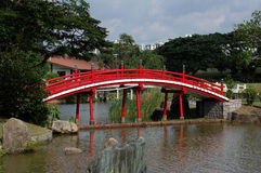 Pont chinois, Singapour Image stock