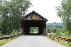 Pont couvert de dépôt Photographie stock libre de droits