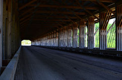 Pont couvert de l'Ohio photographie stock