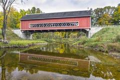 Pont couvert de Netcher Photo stock