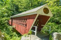 Pont couvert de Nissitissit image libre de droits