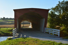 Pont couvert en dos d'âne 2 Photographie stock