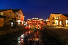 Pont couvert japonais - Hoi An Vietnam Photographie stock