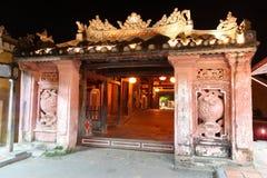 Pont couvert japonais - Hoi An Vietnam Image libre de droits