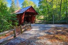 Pont couvert la Caroline du Sud du ` s de Campbell images stock