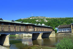 Pont couvert Lovech Bulgarie photographie stock