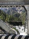 pont croisé Image libre de droits