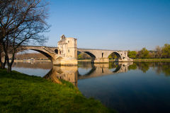 Pont d�Avignon Stock Photography