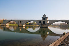 Pont dâAvignon Stock Afbeelding