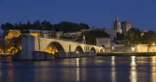 Pont d& x27 Αβινιόν - Αβινιόν - Γαλλία στοκ εικόνα