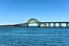 Pont d'admission d'île du feu Image libre de droits