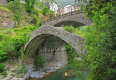 Pont d'Airole Images stock