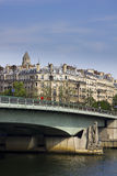 Pont d'Alma bridge in Paris by day Stock Image