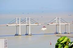 Pont d'Amizade, Macao, Chine Photos stock