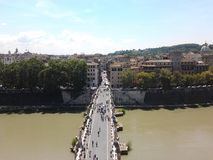 Pont d'angle Photo stock