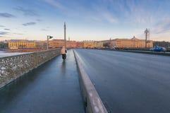 Pont d'annonce Image stock