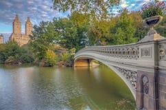 Pont d'arc, Central Park, New York CIT image stock