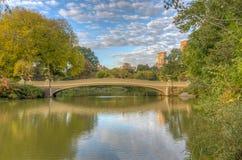 Pont d'arc, Central Park, New York CIT photo libre de droits