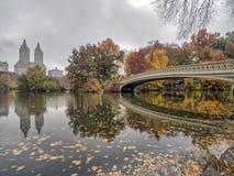 Pont d'arc, Central Park, New York CIT images stock