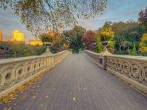 Pont d'arc, Central Park, New York CIT photo stock