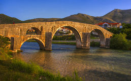 Pont d'Arslanagica Photos stock