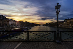 Pont d'arts photos libres de droits