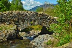 Pont d'Ashness près de Derwentwater Photo libre de droits