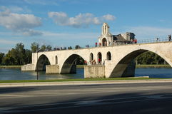 Pont d'Avignon. (St-Benezet).  Avignon.  France Royalty Free Stock Images