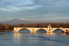 Pont d'avignon Stock Photo