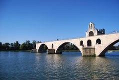 Pont d Avignon Stockfotografie