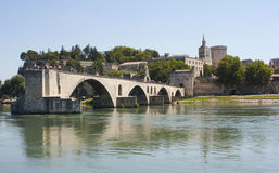 Pont d'Avignon, Avignon, France Royalty Free Stock Images