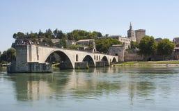 Pont d'Avignon, Avignon, Frankrike Royaltyfria Bilder