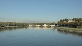 Pont d'Avignon, France stock video footage