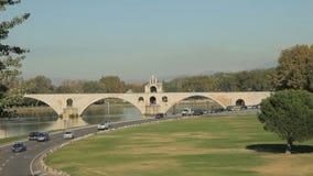 Pont d'Avignon, Frankreich stock video footage