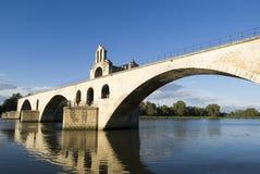 Pont d'Avignon na Petit Rhone Obrazy Royalty Free