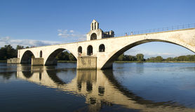The Pont d'Avignon on the Petit Rhone Royalty Free Stock Photos