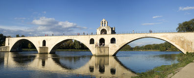 The Pont d'Avignon on the Petit Rhone Royalty Free Stock Photography