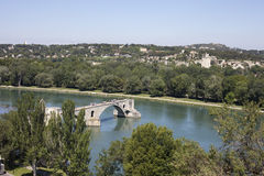 The Pont d'Avignon Royalty Free Stock Image