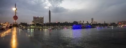 pont d'EL le Nil de kasr Images libres de droits
